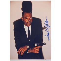 Pulp Fiction Samuel L Jcakson Signed Photo