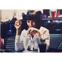 Pulp Fiction Uma Thurman Signed Photo