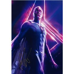 Avengers Infinity War Paul Bettany Signed Photo