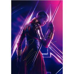 Avengers Infinity War Danai Gurira Signed Photo