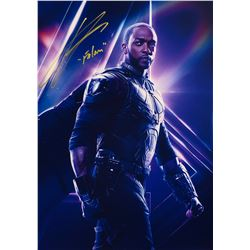 Avengers Infinity War Anthony Mackie Signed Photo