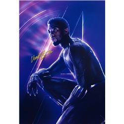 Avengers Infinity War Chadwick Boseman Signed Photo