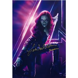 Avengers Infinity War Zoe Saldana Signed Photo