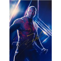 Avengers Infinity War Dave Bautista Signed Photo