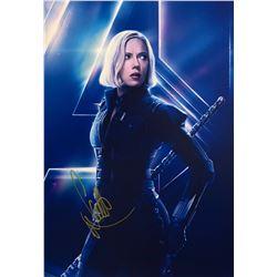Avengers Infinity War Scarlett Johansson Signed Photo