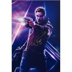 Avengers Infinity War Chris Pratt Signed Photo