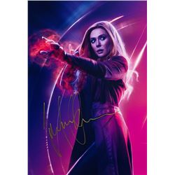 Avengers Infinity War Elizabeth Olsen Signed Photo