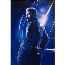 Avengers Infinity War Chris Evans Signed Photo