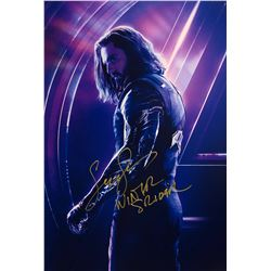 Avengers Infinity War Sebastian Stan Signed Photo