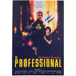 Leon Jean Reno Signed Photo