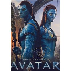Avatar Zoe Saldana Signed Photo