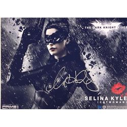 Batman Dark Knight Anne Hathaway Signed Photo