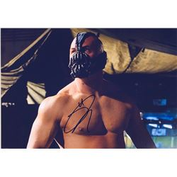 Batman Dark Knight Tom Hardy Signed Photo