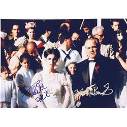 Godfather Marlon Brando Signed Photo