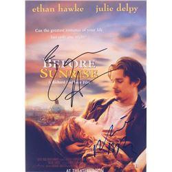 Before Sunrise Ethan Hawke Signed Photo