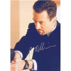 Heat Robert De Niro Signed Photo