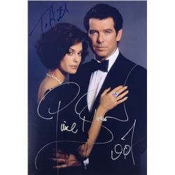 James Bond 007 Tomorrow Never Dies Signed Photo
