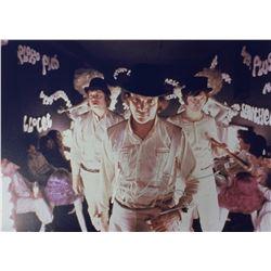 Clockwork Orange Malcolm McDowell Signed Photo