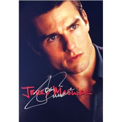 Jerry Maguire Tom Cruise Signed Photo