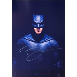 Justice League Ben Affleck Signed Photo