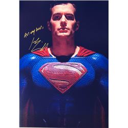 Justice League Henry Cavill Signed Photo