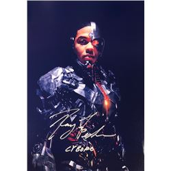 Justice League Ray Fisher Signed Photo