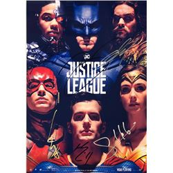 Justice League Gal Gadot Signed Photo