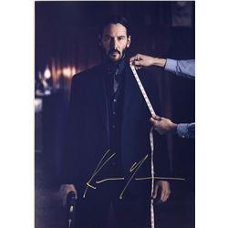 John Wick Keanu Reeves Signed Photo