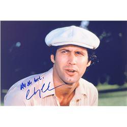 Caddyshack Chevy Chase Signed Photo