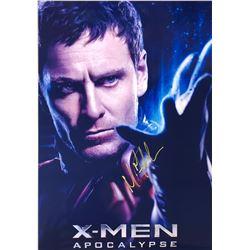 Xmen Apocalypse Michael Fassbender Signed Photo