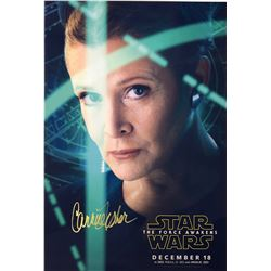Star Wars Force Awaken Signed Photo