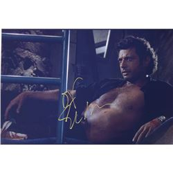 Jurassic Park Jeff Goldblum Signed Photo