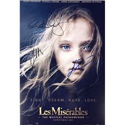 Les Miserables Hugh Jackman Signed Photo