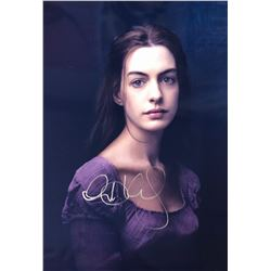 Les Miserables Anne Hathaway Signed Photo