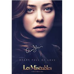Les Miserables Amanda Seyfried Signed Photo