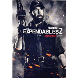 Expendables 2 Chuck Norris Signed Photo