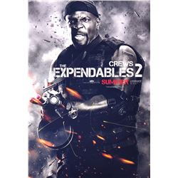 Expendables 2 Terry Crews Signed Photo