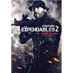 Expendables 2 Randy Couture Signed Photo