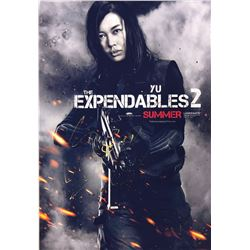 Expendables 2 Nan Yu Signed Photo