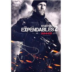 Expendables 2 Jason Statham Signed Photo