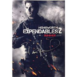 Expendables 2 Liam Hemsworth Signed Photo