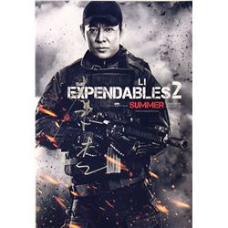 Expendables 2 Jet Li Signed Photo