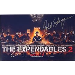 Expendables 2 Sylvester Stallone Signed Photo