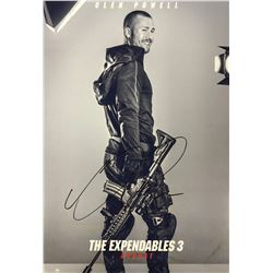 Expendables 3 Glen Powell Signed Photo