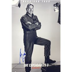 Expendables 3 Harrison Ford Signed Photo