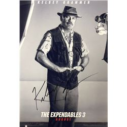 Expendables 3 Kelsey Grammer Signed Photo