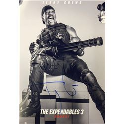 Expendables 3 Terry Crews Signed Photo