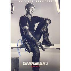 Expendables 3 Antonio Banderas Signed Photo
