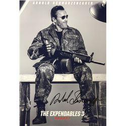 Expendables 3 Arnold Schwarzenegger Signed Photo