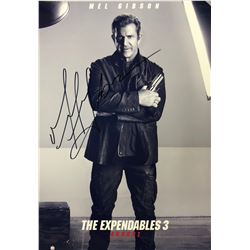 Expendables 3 Mel Gibson Signed Photo